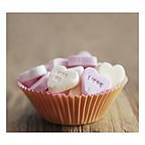 Valentine, Heart, Candies
