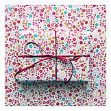 Gift, Gift paper, Flowered