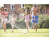 Fun & Happiness, Summer, Family, Splashing