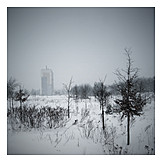 Landscape, Winter, Tristesse