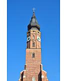 Church, Steeple, Basilica, Saint jacob
