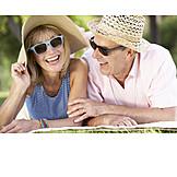 Summer, Relaxing, Couple