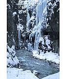 Winter, Frozen, Partnachklamm
