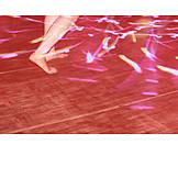 Dancing, Dance floor, Fluorescent strip