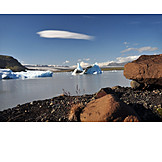 Lake, Glacial lake, Jökulsarlon