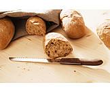 Bread, Bun, Baguette roll