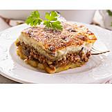 Casserole, Greek cuisine, Mousakas