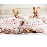 Bed, Morning, Weekend, Breakfast