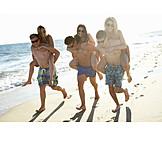 Summer, Vacation, Friends, Clique