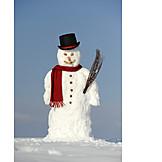 Winter, Snowman
