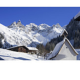 Winter, Allgau, Alp, Oberstdorf