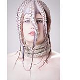 Woman, Headwear, Octopus