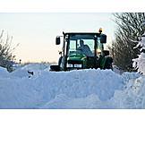 Winter, Snowplow, Shovel Snow