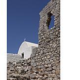 Chapel, Fortress wall, Ruins