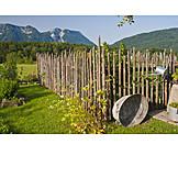 Garden, Fence, Garden Fence