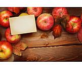 Copy Space, Apple, Autumn