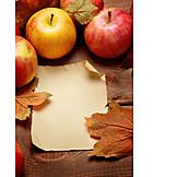 Apple, Autumn, Autumn Decoration