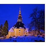 Winter, Church, Seiffen