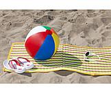 Holiday & Travel, Beach, Summer, Beach Ball