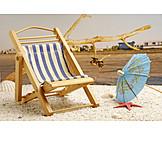 Holiday & Travel, Beach, Deck Chair, Beach Holiday