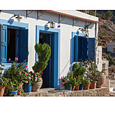 House, Greece, Picturesque