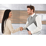 Business, Business Person, Greeting, Business Partnership