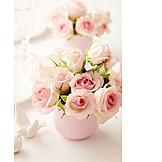 Rose, Table decoration, Rose bouquet