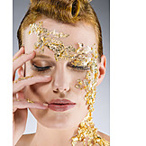 Beauty & cosmetics, Young woman, Woman