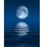 Moon, Full moon, Astronomy, Universe