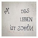 Vitality, Optimism, Streetart