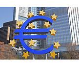 Euro, European central bank