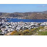 Greece, Coastal town, Patmos