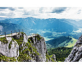 Mountain range, European alps, Valley, Bavaria, Wendelstein