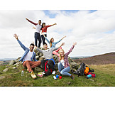 Fun, Hiking, Friends, Clique