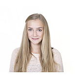 Portrait, Teenager, Girl