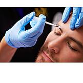 Syringe, Botox, Skin rejuvenation