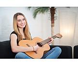 Teenager, Guitar, Playing guitar, Guitarist