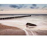 Beach, Baltic sea, Groyne