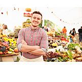 Market stall, Vegetable market, Sales executive