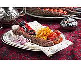 Turkish cuisine, Lamb, Adana kebab