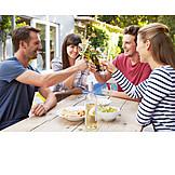 Friendship, Alcohol, Friends, Toast