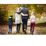Path, Family, Walk