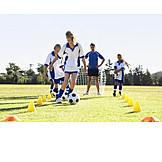 Soccer, Dribbling, Sports training