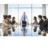 Business, Meeting, Team, Boss