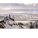 Iceland, Hike, Godafoss