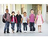 Child, 3-8 Years, School Children, School Class
