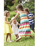 Playing, Children, Dancing