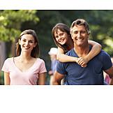 Parent, Happy, Cheerful, Family
