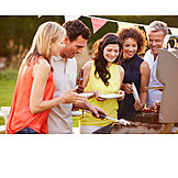Broiling, Barbecue, Friends