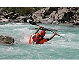 Water sport, Paddling, Kayak